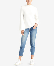 RACHEL Rachel Roy Ribbed Turtleneck Sweater, Created for Macy's