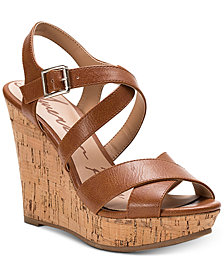 American Rag Rachey Dress Platform Wedge Sandals, Created for Macy's