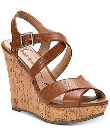 American Rag Rachey Dress Platform Wedge Sandals, Created for Macy's