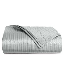 Hotel Collection Lithos Full/Queen Quilted Coverlet, Created for Macy's