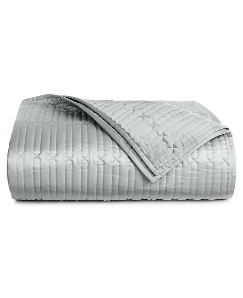 Hotel Collection Lithos Full Queen Quilted Coverlet