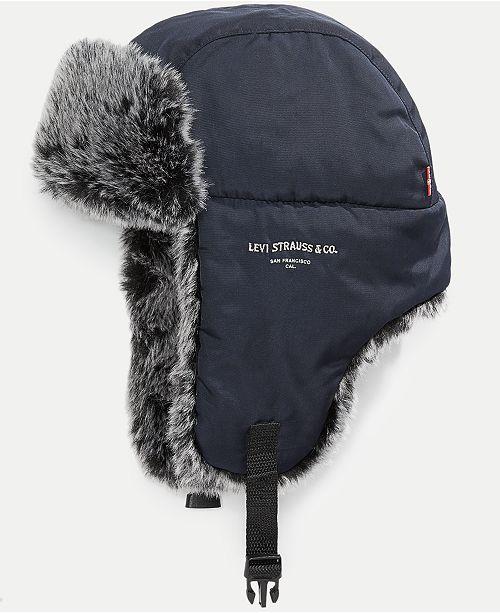 Levi s Men s Lined Trapper Hat - Hats 06b8175e20e5