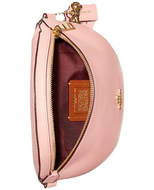 6424f8a0dd67 COACH Selena Gomez Leather Belt Bag   Reviews - Handbags ...