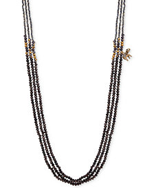 "lonna & lilly Two-Tone Beaded 36"" Stranded Necklace"
