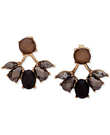 lonna & lilly Gold-Tone Stone Jacket Earrings