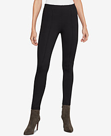 BCBGMAXAZRIA Seamed Ponté-Knit Leggings