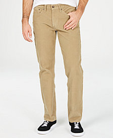 Levi's® Men's 514 Straight-Leg Corduroy Pants