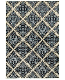Oriental Weavers Linden 7816B Ivory/Blue Area Rug