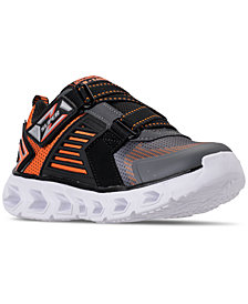 Skechers Little Boys' S Lights: Hypno-Flash 2.0 - Rapid Quake Light-Up Athletic Sneakers from Finish Line