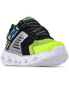 Skechers Toddler Boys' S Lights: Hypno-Flash 2.0 - Rapid Quake Light-Up Athletic Sneakers from Finish Line