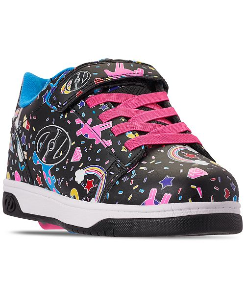 09dec8a7b4b8 Heelys Girls  Dual Up X2 Wheeled Skate Sneakers from Finish Line ...