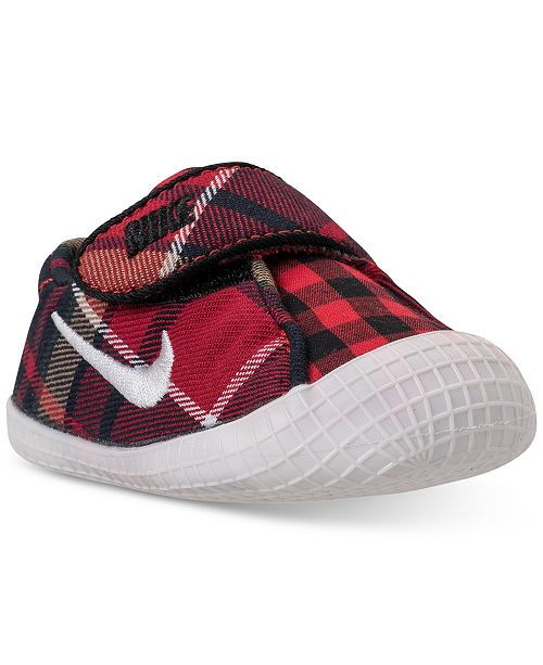 Nike Boys  Infant Waffle 1 Premium Crib Booties from Finish Line ... 914b7a3b1bc