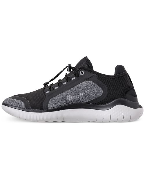 6085f36b988 ... Nike Men s Free RN 2018 Shield Running Sneakers from Finish Line ...