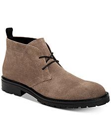 Calvin Klein Men's Ultan Suede Chukka Boots