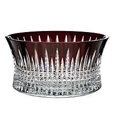 "Lismore Diamond Red 10"" Bowl"