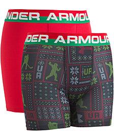 Under Armour Little & Big Boys 2-Pk. Boxerjocks