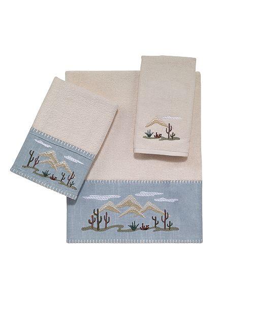 Avanti Cactus Landscape Embroidered Bath Towel