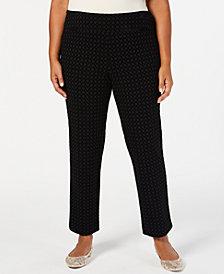 Charter Club Plus Size Cambridge Ponté-Knit Pants, Created for Macy's