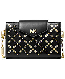 MICHAEL Michael Kors Floral Stitched Crossbody Clutch