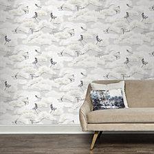 Tempaper Asian Toile Self-Adhesive Wallpaper