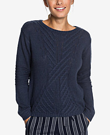 Roxy Juniors' Glimpse of Romance Sweater