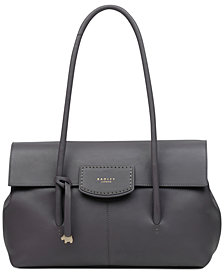 Radley London Burnham Beeches Flap Leather Shoulder Bag