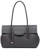12229e7d94b808 Radley London Burnham Beeches Flap Leather Shoulder Bag