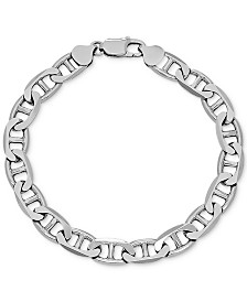 Mariner Link Chain Bracelet in Sterling Silver