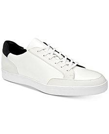 Calvin Klein Men's Izar Leather Sneakers