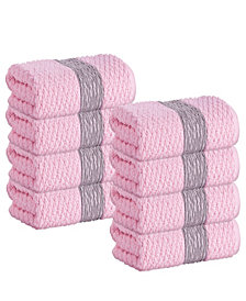 Enchante Home Anton 8-Pc. Hand Towels Turkish Cotton Towel Set