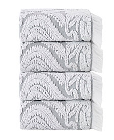 Enchante Home Laina 4-Pc.Turkish Cotton Bath Towel Set