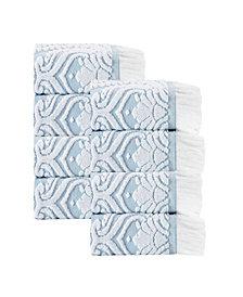 Enchante Home Laina 8-Pc. Turkish Cotton Wash Towel Set