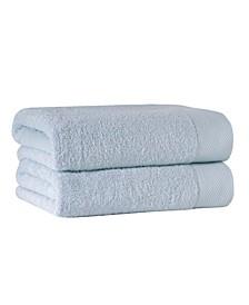 Signature 2-Pc. Bath Sheets Turkish Cotton Towel Set