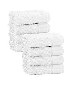 Enchante Home Timaru 8-Pc. Wash Towels Turkish Cotton Towel Set