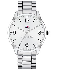 Tommy Hilfiger Men's Stainless Steel Bracelet Watch 42mm  Created for Macy's
