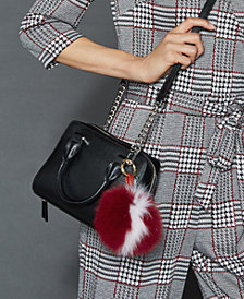 The Fur Vault Fox Fur Pom Pom Keychain