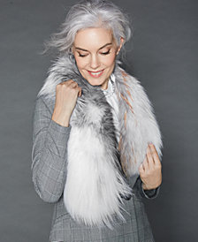 The Fur Vault Pull-Through Fox Fur Scarf