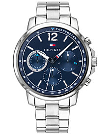 Tommy Hilfiger Men's Stainless Steel Bracelet Watch 44mm