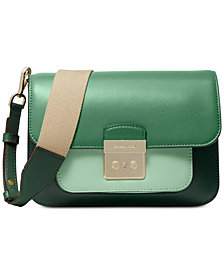 MICHAEL Michael Kors Sloan Editor Colorblock Leather Shoulder Bag