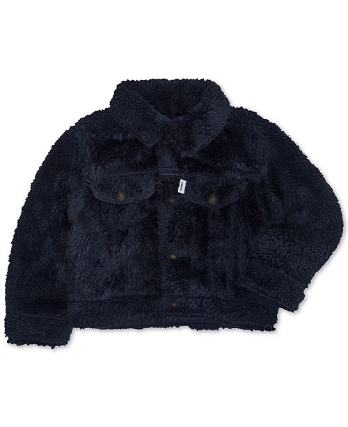 89265090a5a1 Levi s Baby Boys and Girls Faux-Sherpa Trucker Jacket   Reviews ...