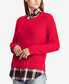 Lauren Ralph Lauren Layered-Look Shirt