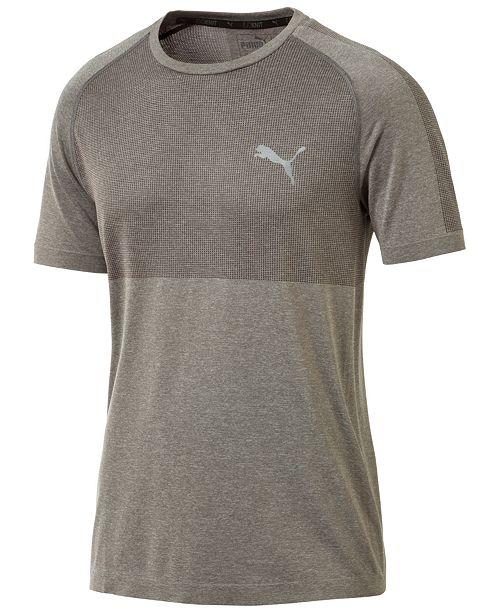 1dc641f1c7f Puma Men's evoKNIT Colorblocked T-Shirt & Reviews - T-Shirts - Men ...