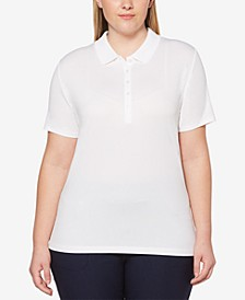 Plus Size Golf Polo