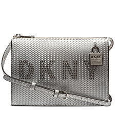 DKNY Commuter Logo Crossbody, Created for Macy's