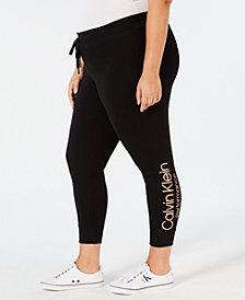 Calvin Klein Performance Plus Size Logo Joggers