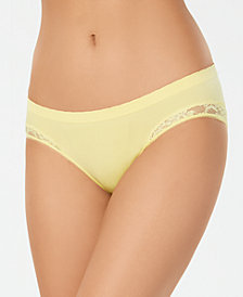 Jenni Women's Plus Size Lace Detail Hipster, Created for Macy's