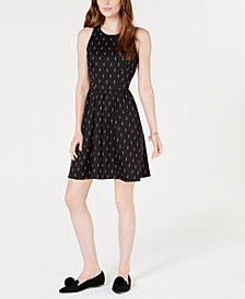Maison Jules Sleeveless Fit & Flare Dress, Created for Macy's