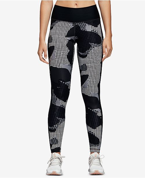 6fbe0ebf002fd ... adidas Believe This Printed High-Rise Printed Ankle Leggings ...