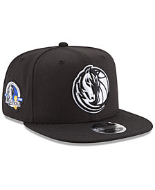 New Era Dallas Mavericks Anniversary Patch 9FIFTY Snapback Cap