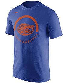 Nike Men's Florida Gators Cotton Basketball Verbiage T-Shirt